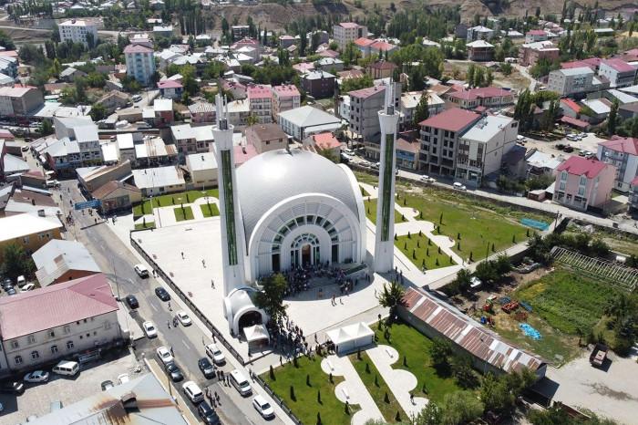 Mimarisi ile dikkat çeken İbrahim Halil Kaya Camii ve Kültür Merkezi
